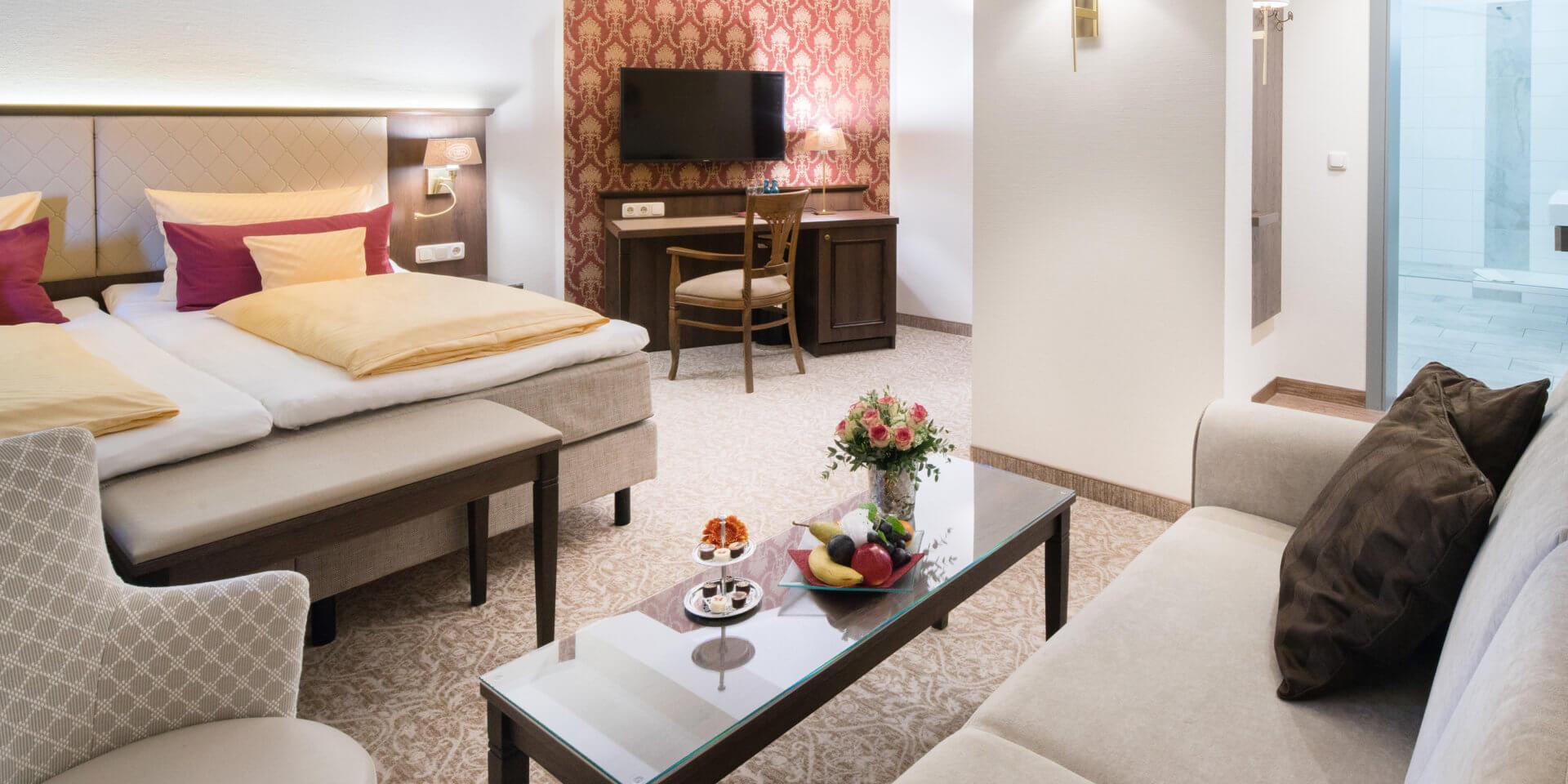 Doppelzimmer Superior - Schlosshotel Chemnitz