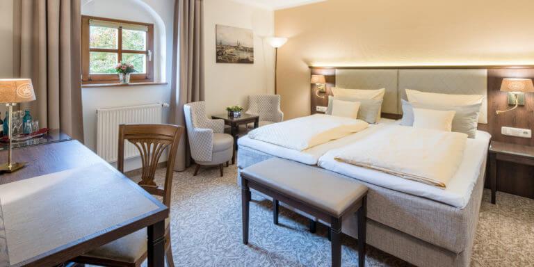 Doppelzimmer Standard - Schlosshotel Chemnitz