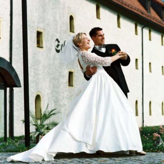 Brautpaar-Eingang - Schlosshotel Chemnitz