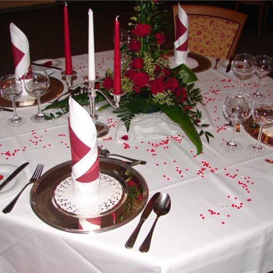 Hochzeit-Tisch - Schlosshotel Chemnitz