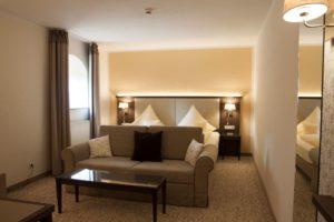 Doppelbett - Schlosshotel Klaffenbach