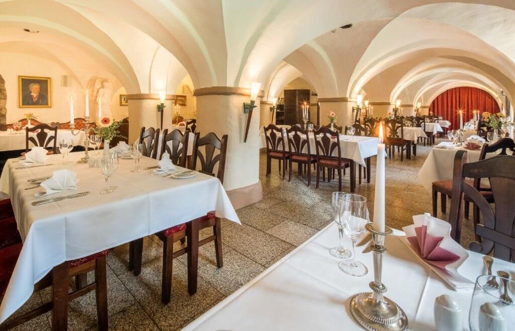 Gewölberestaurant - Schloßhotel Chemnitz