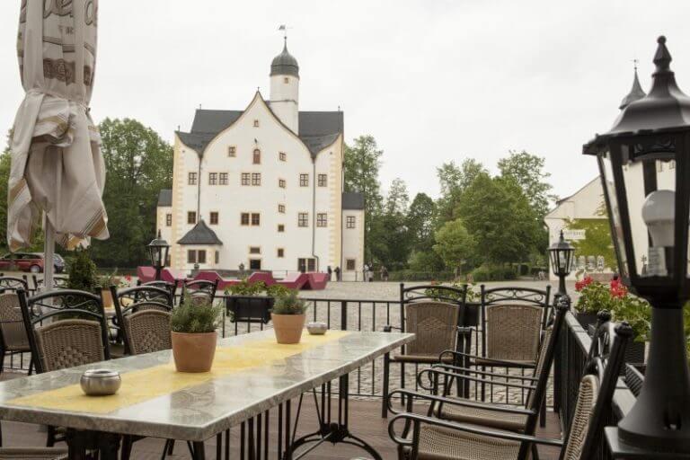 Schlosscafe Terrasse