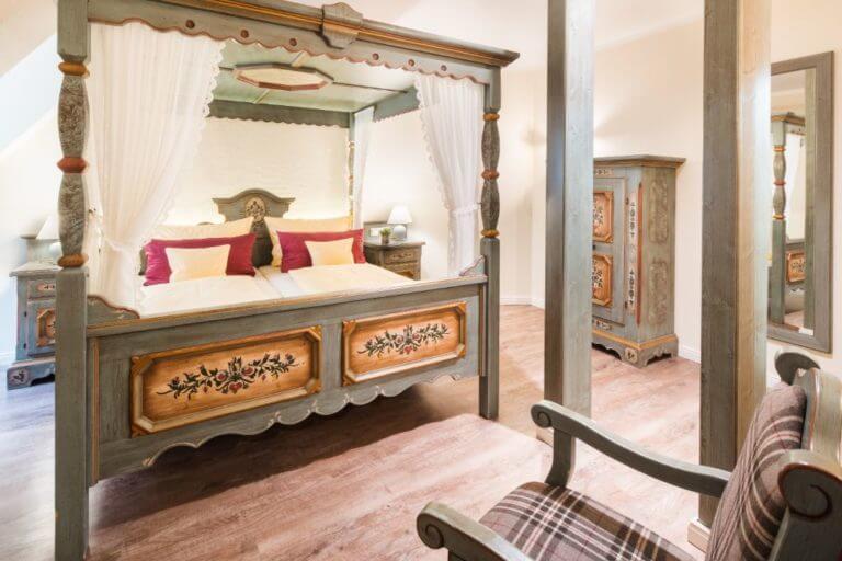 Suite Anno 1700 - Schlafzimmer