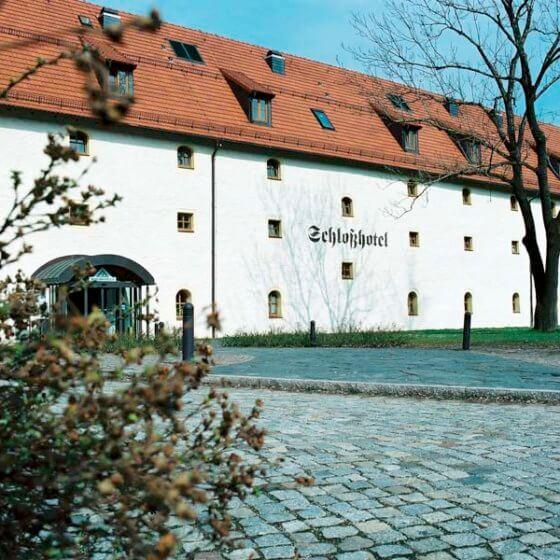 Schlosshotel Chemnitz - Eingang