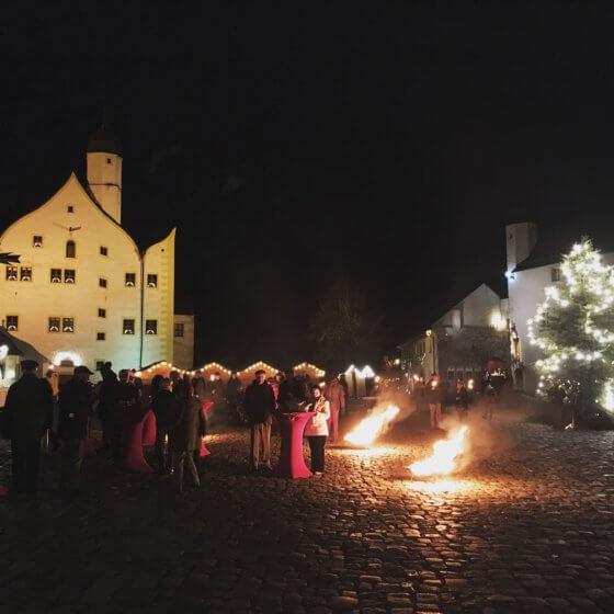 Weihnachten im Schlosshotel