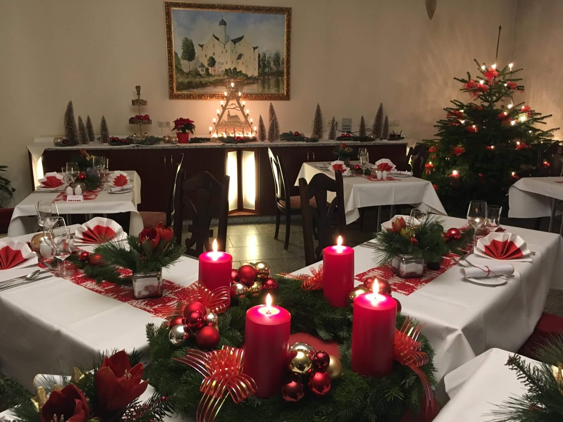 Weihnachtstage im Wasserschloss - Schlosshotel Chemnitz