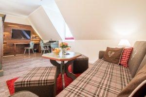Suite Anno 1700 - Wohnbereich
